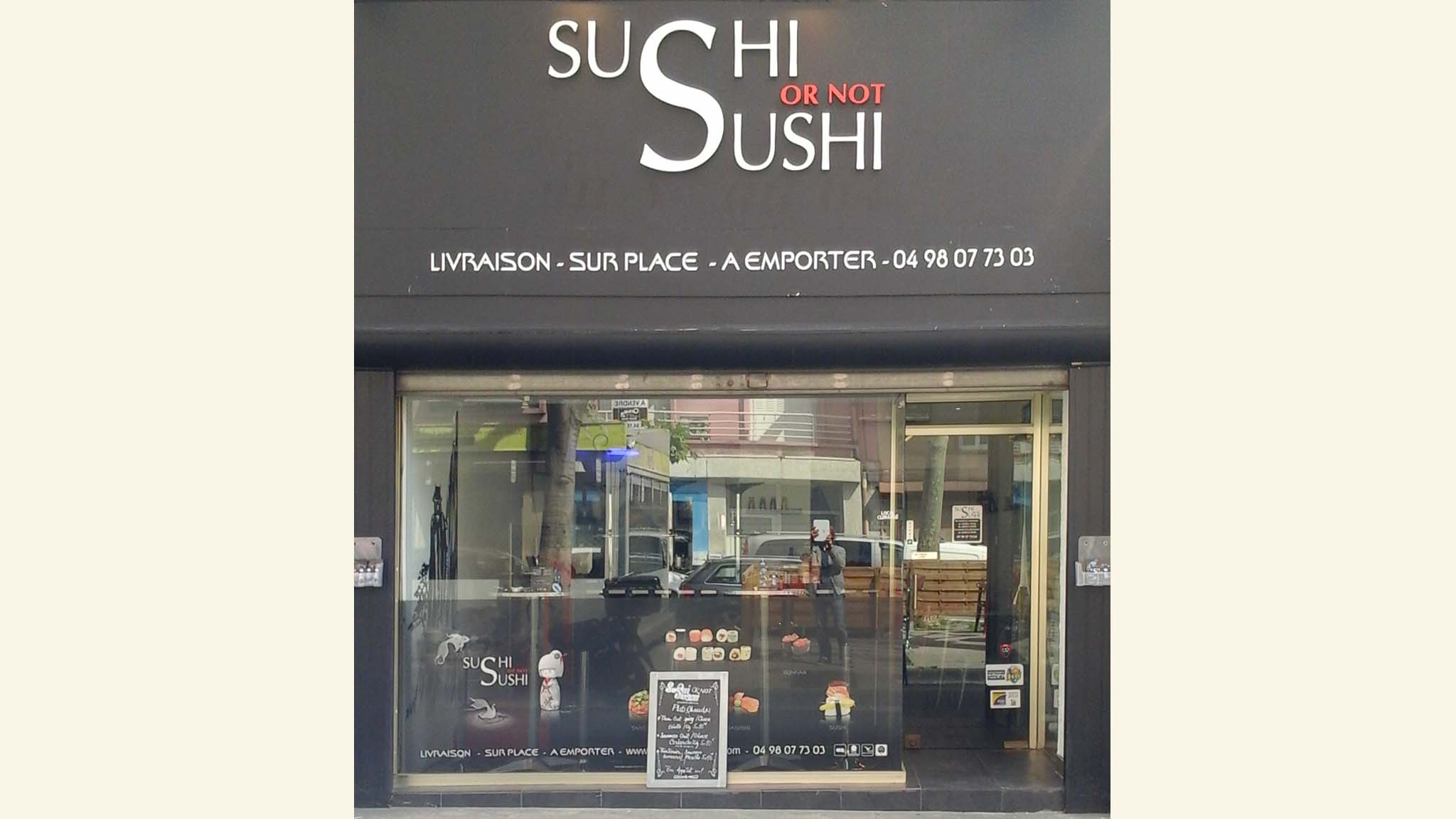 Restaurant Sushi Or Not Sushi